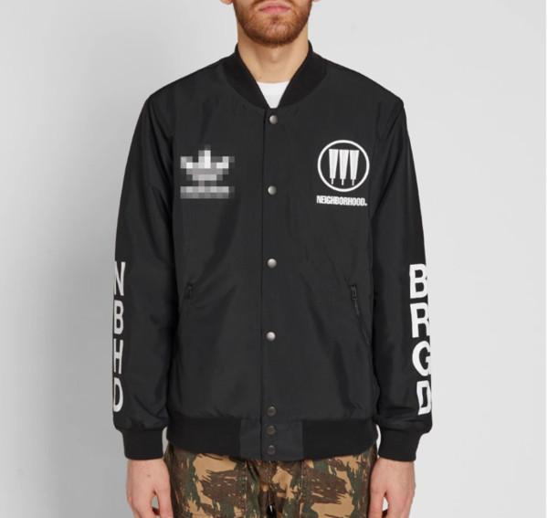 Chaquetas de moda Marca Windbreaker Letter Print Mens Designer Zipper Black Sports Skateboard Hoodie Prendas de abrigo Street Hiphop Casual B100044L