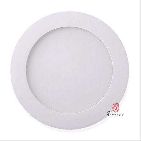 Le voyant mince LED AC85-265V Downlight rond superbe superbe 3/4/6/9/12/15/18 / 24W LED a enfoncé le plafond de cuisine dynastie de salle de bains de cuisine