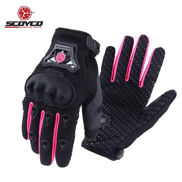 XL y XXL M L Guantes de carreras de motocross para hombres y mujeres; guantes deportivos con dedos completos en tallas S