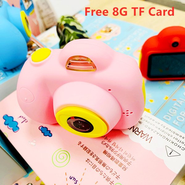 D6 Baby HD Camera Toy Children's Educational Photo Camera Toddler Kids Mini Digital Toy Camera for kids drop shiping