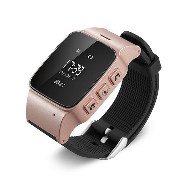 D99 Smart Watch D99 ältere Kinder Smart Watch Telefon SOS Anti-verlorene Gps + Wifi Tracking für Android-Handys Alte Männer Frauen