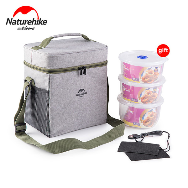 Naturehike 3 In 1 Outdoor Multifunctional Picnic Ice Bag Foldable Keep Warm Cold Fresh Lunch Pack Isothermic Container Bag