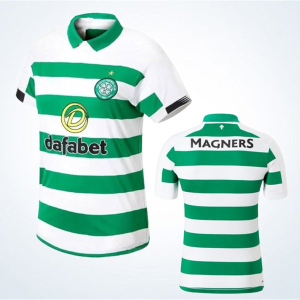 2019/2020 Celtic GRIFFITHS dembele Camiseta de fútbol local Thiland ROBERTS CHRISTIE EDOUARD BURKE Sinclair Rogic McGregor Roberts