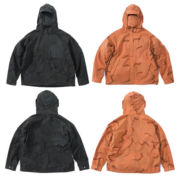 DROPSHIP Riot Mask Tactical Clothing Camo Mountain Parka Jacket Windproof Men Women Coat Street Casual Sport Outwear Jacket HFYMJK230