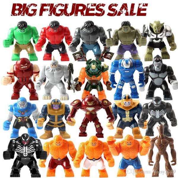 Súper héroe Acción grande Thor grande Hulk Buster Darkseid Gorila Venom Riot Carnage Thanos Igor Niños Juguetes educativos