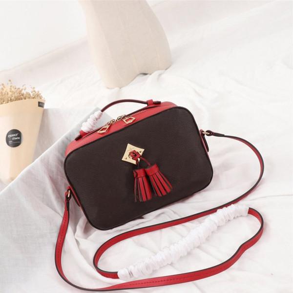 Vintage Tassel Women Camera Bag Fashion Printed Lady Shoulder Bags Casual Large Capacity Cross Body Bag