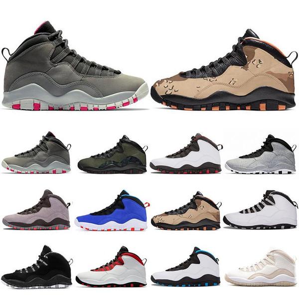Новое поступление 10 10s Woodland Camo Баскетбольная обувь для мужчин Tinker Cement Westbrook Dark Smoke Grey Дизайнерские кроссовки Спортивные кроссовки US 7-13