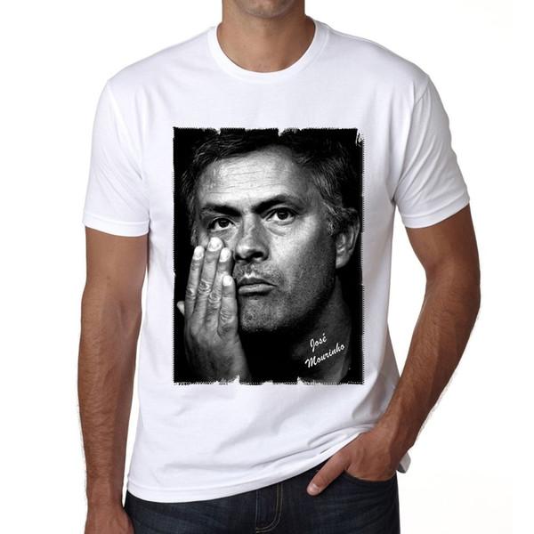 Mourinho Tshirt Herren T-shirt peur cosplay liverpoott mens fierté sombre RETRO VINTAGE Classique