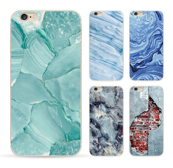High Quality Painted TPU Marble Skin Back Cover Case Mobile Phone For iPhone 11 Pro Max 6 7 8 Plus X XR XS Max Samsung