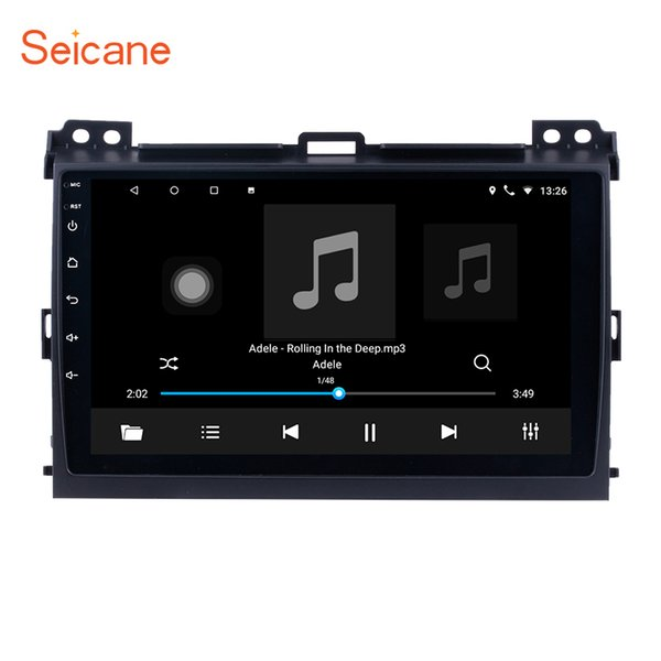9 inch Android 7.1 Car Multimedia Player for 2004 -2009 Toyota Prado with Bluetooth USB WIFI support SWC