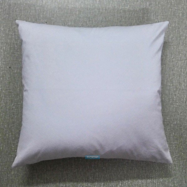 top popular 30pcs All Size Plain White Color Pure Cotton Canvas Pillow Cover With Hidden Zipper For Custom DIY Print Blank Cotton Pillow Cover Any Color 2019
