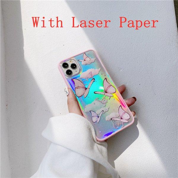 Розовый лазер