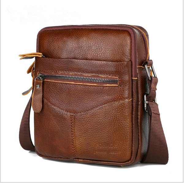 Genuine leather Designer Handbags high quality shoulder bags for men bag Fashion factory discount factory promotion new style ,free shipping