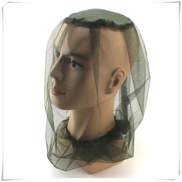 Mosquitera Cap Camping Travel Set Cabeza Tapas a prueba de insectos Blackish Simple Moda Sombrero de pesca Protector facial