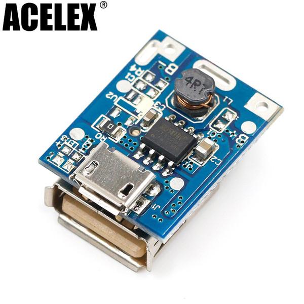 5 adet 5 V Step-Up Güç Modülü Lityum Pil Şarj Koruma Kurulu Boost Dönüştürücü DIY Ekran Için LED Ekran USB 134N3P