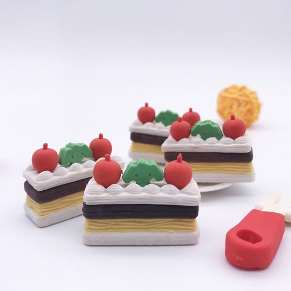 Creative stationery Macaron hamburger rubber small color color hamburger eraser