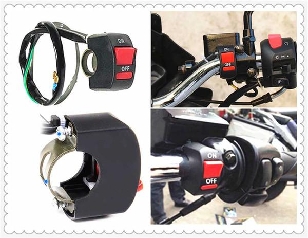Fari manubrio universali per fendinebbia moto interruttore pulsante ON / OFF per Aprilia MANA MODELLO RST1000 FUTURA RSV MILLE