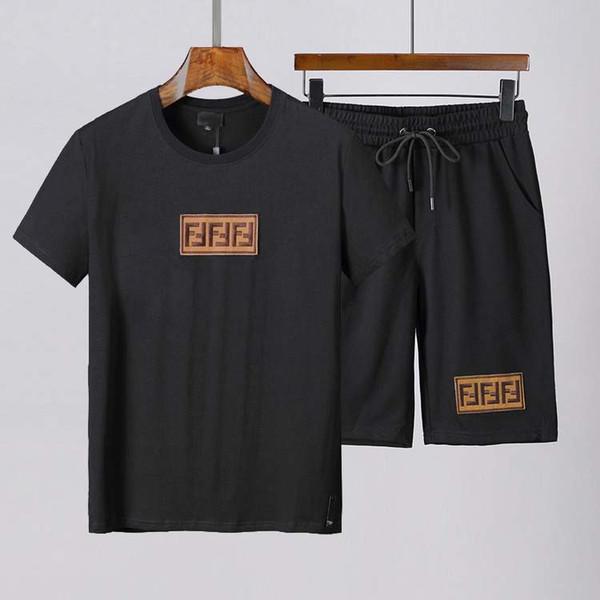 Nouveaux Vêtements de sport pour hommes Costume pour hommes Survêtements de marque Medusa Ensembles courts pour hommes Jogging survêtements 3XL