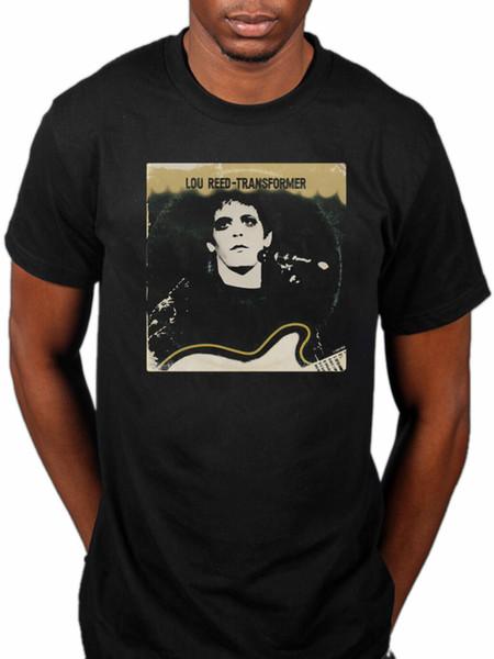 Official Lou Reed Transformer T-Shirt Lulu Berlin The Blue Mask Street Hassle Men Women Unisex Fashion tshirt Free Shipping black