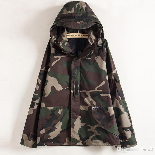 Man si Tun New Tactical Camouflage Jacket Men Women Plus Size Camo Windbreaker Jackets Military Canvas Jacket Parka Fashion