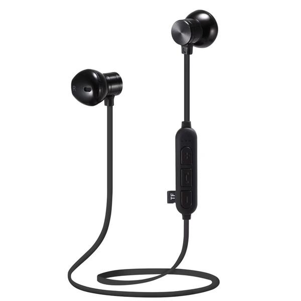 2019 M12 sans fil Bluetooth Neck Support magnétique Super Bass écouteurs de bonne qualité pour l'iphone xr xs max pour Samsung s10 Air