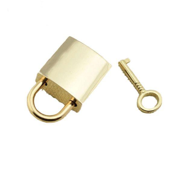 20pcs 35 mm or Nicke Sac serrure avec clé Fermoir en métal Turn Lock Twist Locks Sac à main Matériel Accessoires Faux Décoratif
