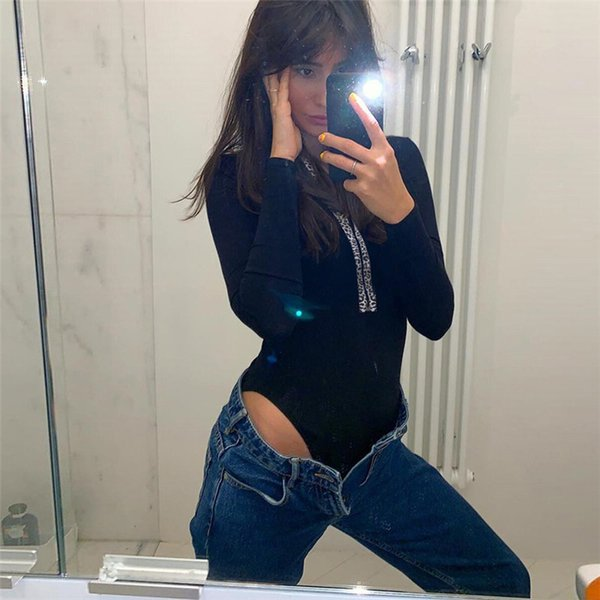 Womens Jumpsuits 2019 Spring&Summer New Sexy Leopard Jumpsuit Shorts Fashion See-through Clothing Nightclub Deep V Zipper Tops Black