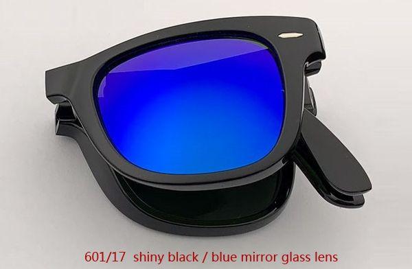 601/17 عدسة مرآة سوداء / زرقاء لامعة