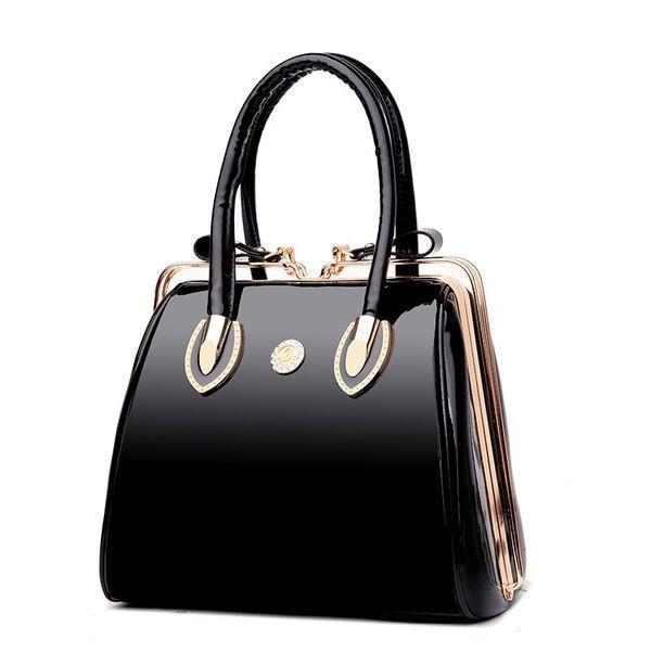 Famous Designer Big Women Handbag Patent Leather Shoulder Bags High Quality Diamonds Ladies Large Capacity Tote Crossbody Bags