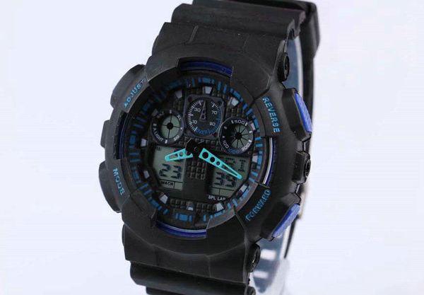 2019 neue neueste späteste vorbildliche Uhr ga100 ga 100 Uhr, klassische Armbanduhr relogio reloj de pulsera, geführte Mann-Frauen-Uhr