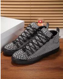 Süper Kalite Kırmızı Arena Sneakers Kırmızı Balık Desenli Erkek ayakkabı Sneakers Erkek Kadın Marka Moda Ayakkabı 38-46 fa61