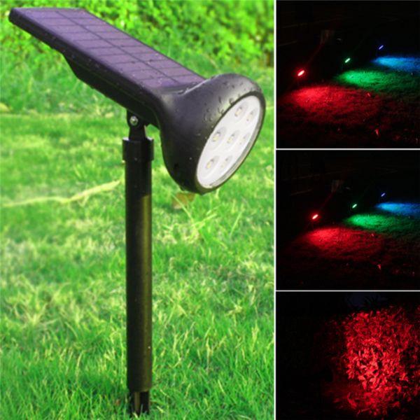 finest selection e57ce 2d663 2019 Solar Spot Lights Solar Powered Lawn Light 7 LED RGB Landscape  Lighting For Garden Patio Yard Driveway From Lightingshops, $25.09 |  DHgate.Com