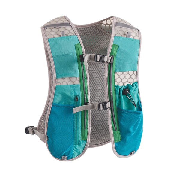 2.5L Running Vest Ultralight Breathable Quick-Dry Phone Bag Hydration Backpack Accessories For Camping Hiking