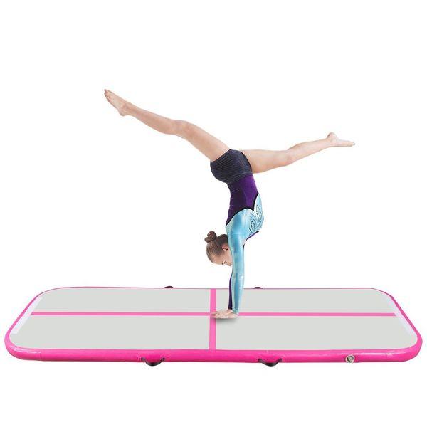 2019 descuento grande 300 * 100 * 10 cm Airtrack inflable aire volteo pista de aire gimnasia esteras equipo del tablero de entrenamiento piso mattess de calidad superior