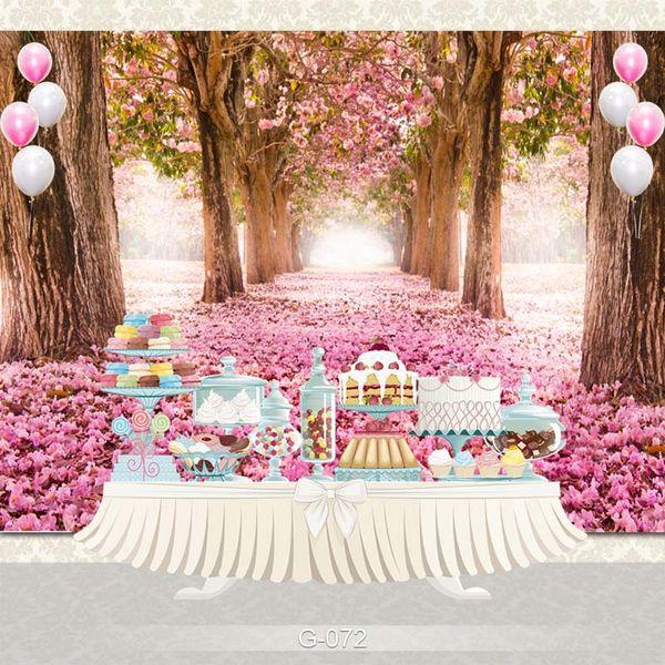 Fertigen Sie zu Hause Dekoration Fotografie-Hintergrund-Studio-Hintergrund-Cartoon Baby-Kind-Party-Geburtstags-Foto-Hintergrund G-072