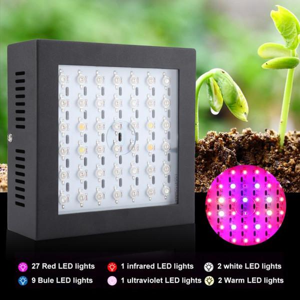 80w Led Grow Light 85v 265v Leds Grow Light Indoor Growing Lamp For Greenhouse Plants Vegetable Flower Growth Indoor Plant Grow Lights Grow Light For