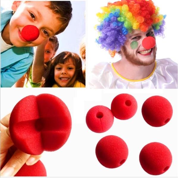 Red Ball spugna Clown Nose magica accessori del vestito per la decorazione di cerimonia nuziale della festa di Natale del costume di Halloween