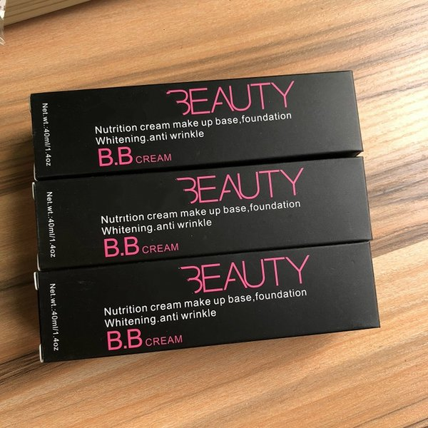 Hot selling Beauty nutrition cream makeup base ,foundation BB cream in stock 3 colors in stock