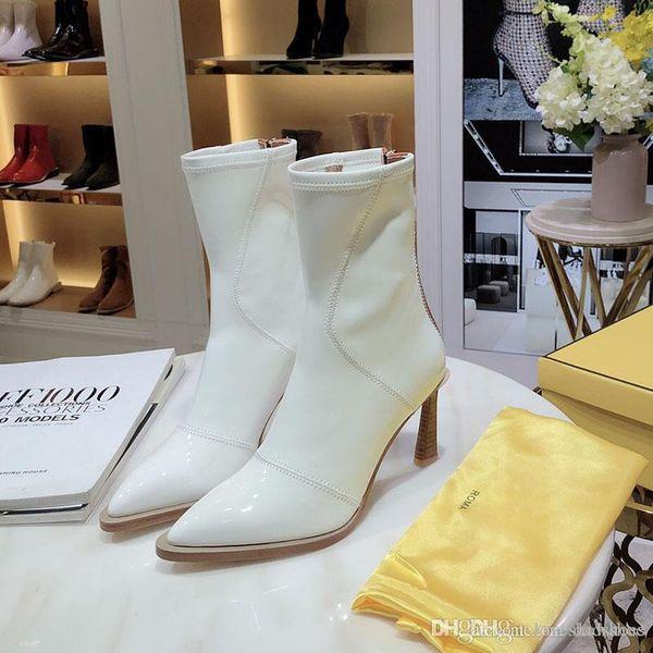 2020 новые моды роскошные ботинки женщин зимние ботинки кожаные Дно круглой головой ботильоны противоскольжения и армейские ботинки для женщин размер 35-41