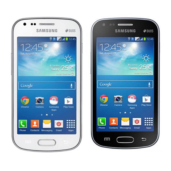 Telefono cellulare sbloccato 4.0 pollici sbloccato Samsung S7562I Galaxy S Duos Dual SIM Android 4.1 WIFI GPS