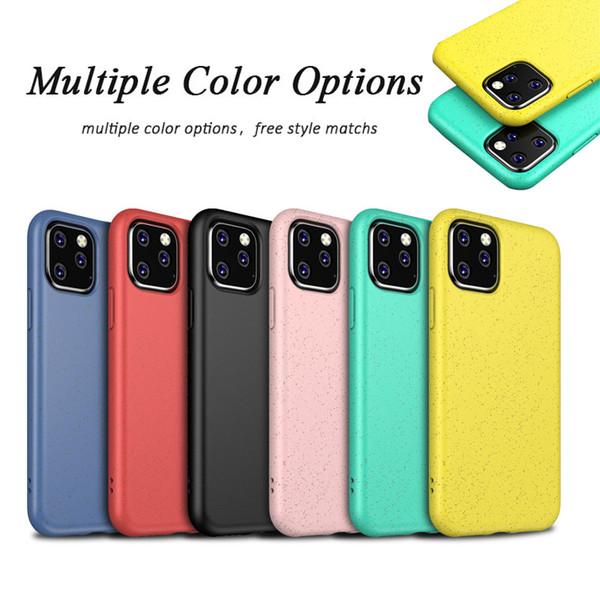 Caso di lusso Musubo per iPhone 11 Pro copertura massima in silicone per iPhone 11 Pro Torna cause Fundas morbidi 11 ultra sottile Coque Capa