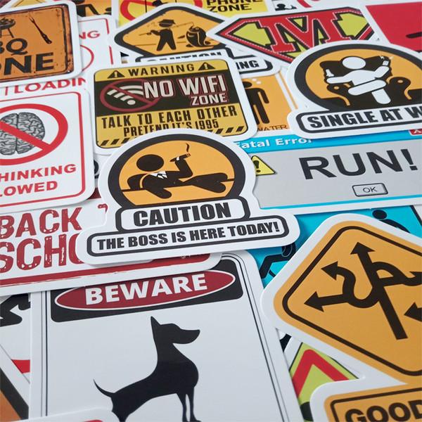 50 stück schutz vor diebstahl aufkleber gelten für wohn graffiti autos motorrad bike skate gepäck spaß aufkleber diy wasserdicht