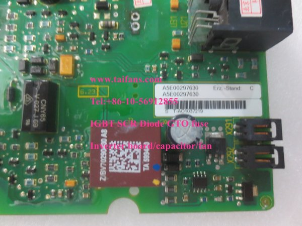 drive board A5E00297630 A5E00296878 without IGBT module