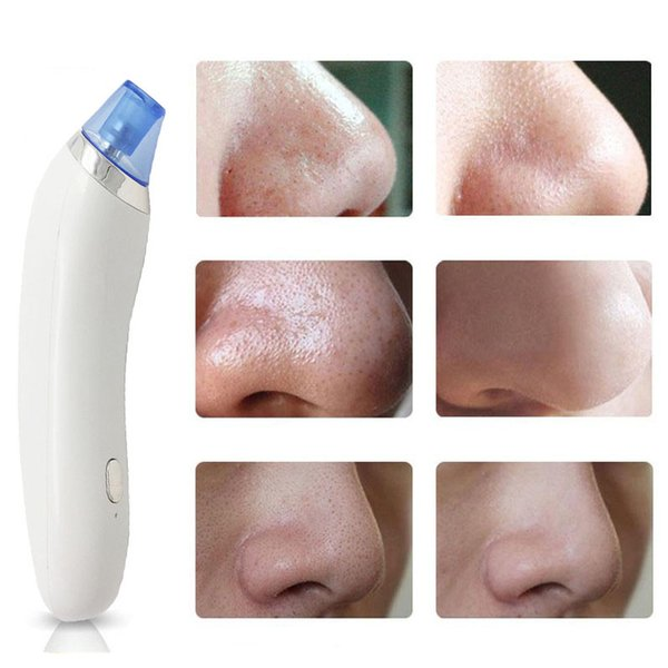 top popular Electronic Face Blackhead Remover Facial Skin Cleansing Tool Makeup Pore Cleanser Skin Cleaner Blackhead Acne Remover Face Care Tools 2019
