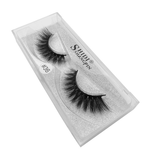 Hot 3D High grade Mink Eyelashes False lash 1 pair lot Super Natural Thick Long curl lifelike Free shipping