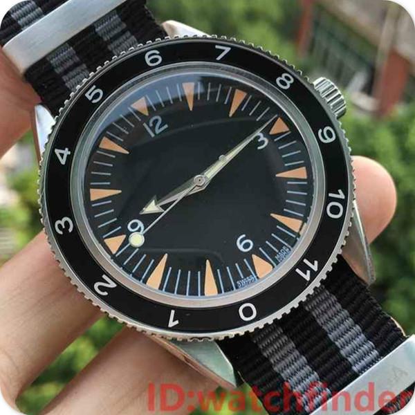 luxury male clock red nato strap james bond spectre 007 women mens automatic mechanical men wristwatches watches relogio masculino watch