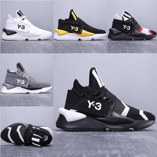 2019 Роскошный дизайнер Y-3 Kaiwa Коренастые мужские кроссовки Роскошные ботинки Y3 Спортивные прогулочные дышащие многоцветные уличные кроссовки EUR38-45