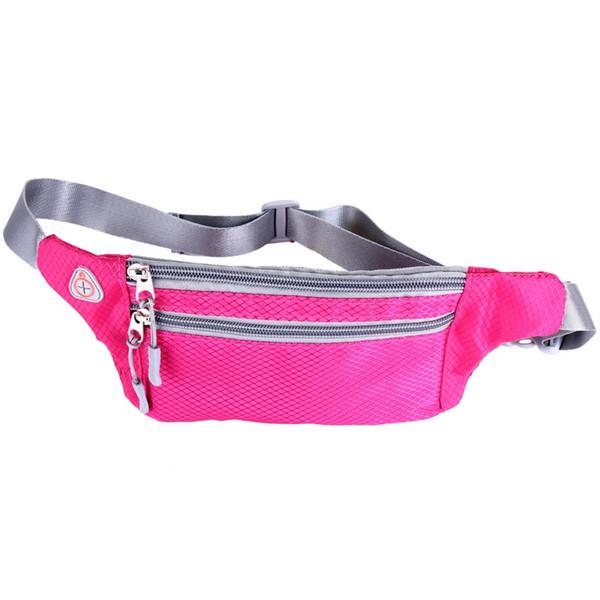 Waterproof Running Bag For 4.7-5.5 Inch Personal Pocket Phone Cover Travel Waterproof Outdoor Hidden Purse Belt Running Bag #351353