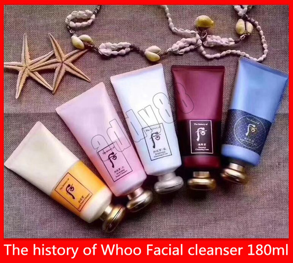 Skin care face care the hi tory of whoo facial clean er hydrating foam brighteening ja yang foam clean er foam face clean cream 180ml