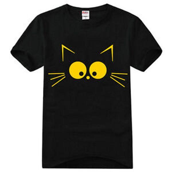 Fashion Anime Sailor Moon Minako Aino Cat Cotton T Shirt Cosplay Tee Shirts Tops